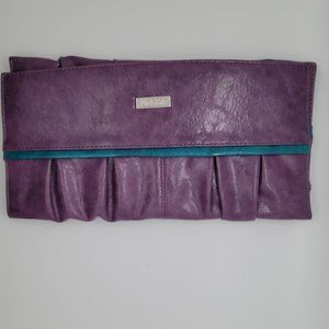 Miche Natalie Flap Closure Pleated Classic Shell Purple/Teal Shell Only